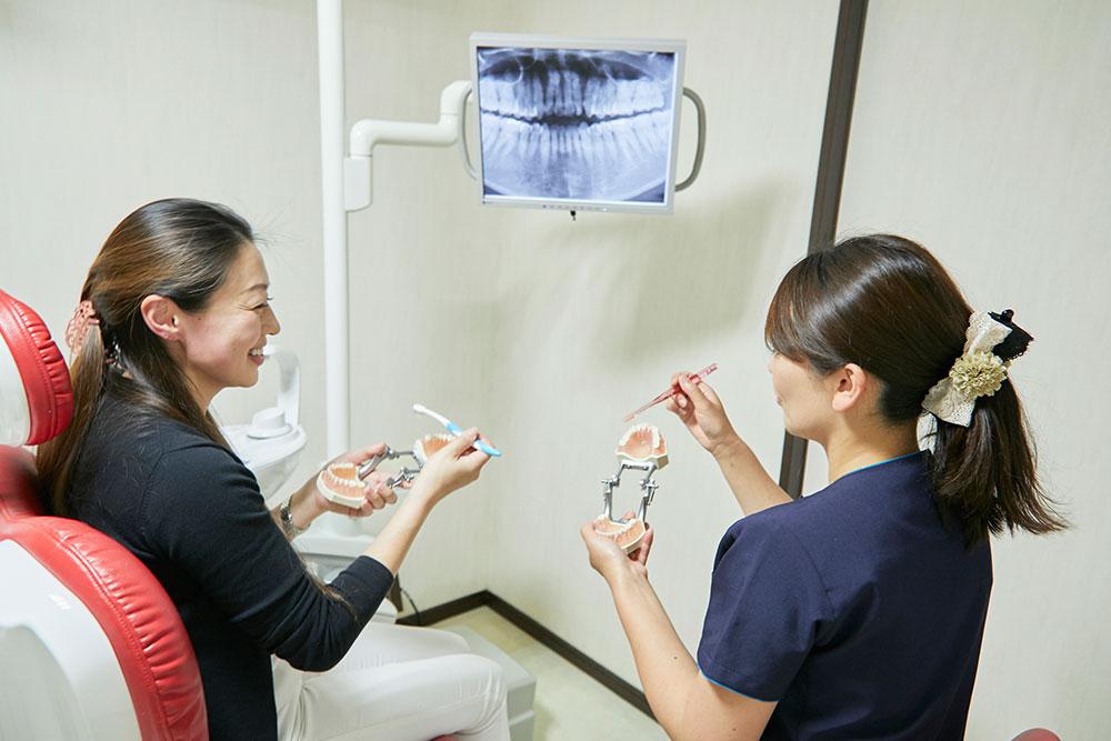 定期健診、予防歯科