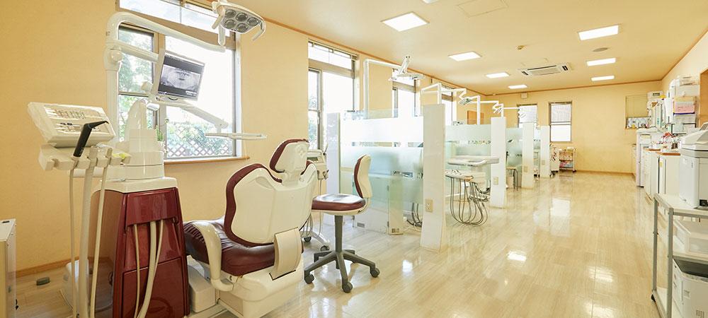 バリアフリー構造の歯医者