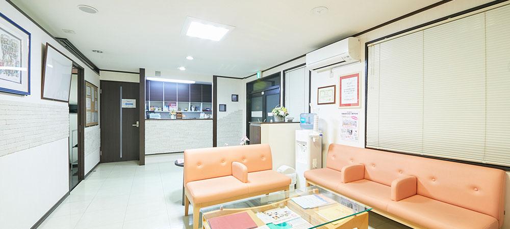 衛生管理を徹底している歯科医院